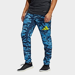 Men's adidas Training 3 Bar Camo Jogger Pants