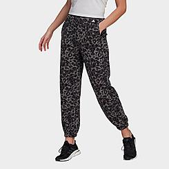 Women's adidas Sportswear Leopard Print Jogger Pants