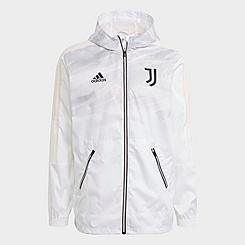 Men's adidas Juventus Soccer Windbreaker Jacket