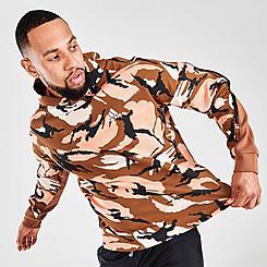 Men's adidas Desert Camouflage Allover Print Hoodie