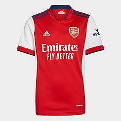 Kids' adidas Arsenal 21-22 Home Soccer Jersey