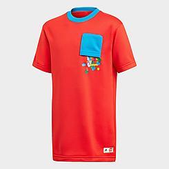 Kids' adidas x Classic Lego® Bricks Loose Fit Training T-Shirt