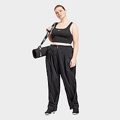 Women's Reebok Studio Shiny Woven Pants (Plus Size)