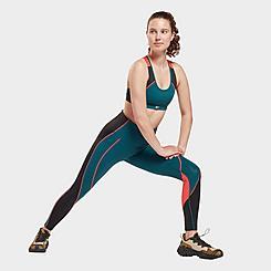 Women's Reebok High-Rise Lux Colorblock Leggings