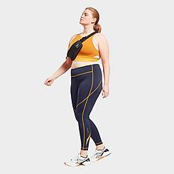 Women's Reebok Workout Ready Big Logo Leggings (Plus Size)