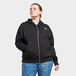 Women's Reebok Identity Zip-Up Hoodie (Plus Size)