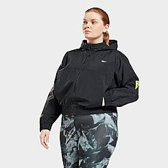 Women's Reebok Workout Ready MYT Woven Jacket (Plus Size)