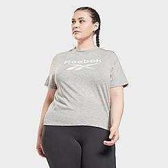 Women's Reebok Identity T-Shirt (Plus Size)