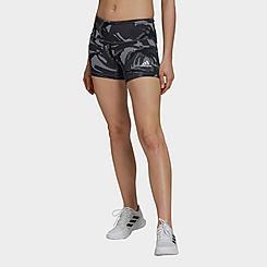 Women's adidas Volleyball 4 Inch Camo Training Shorts