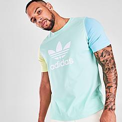 Men's adidas Originals Blocked Trefoil T-Shirt