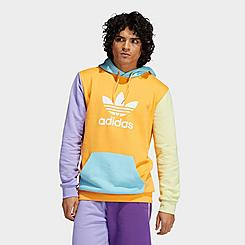 Men's adidas Originals Blocked Trefoil Hoodie