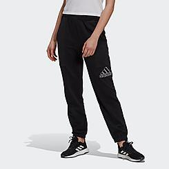 Women's adidas Essentials Brand Love Embroidered Logo Pants