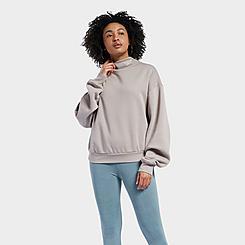 Women's Reebok Classics Cozy Fleece Cowl Neck Sweatshirt