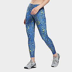 Women's Reebok Workout Ready Printed Leggings (Plus Size)