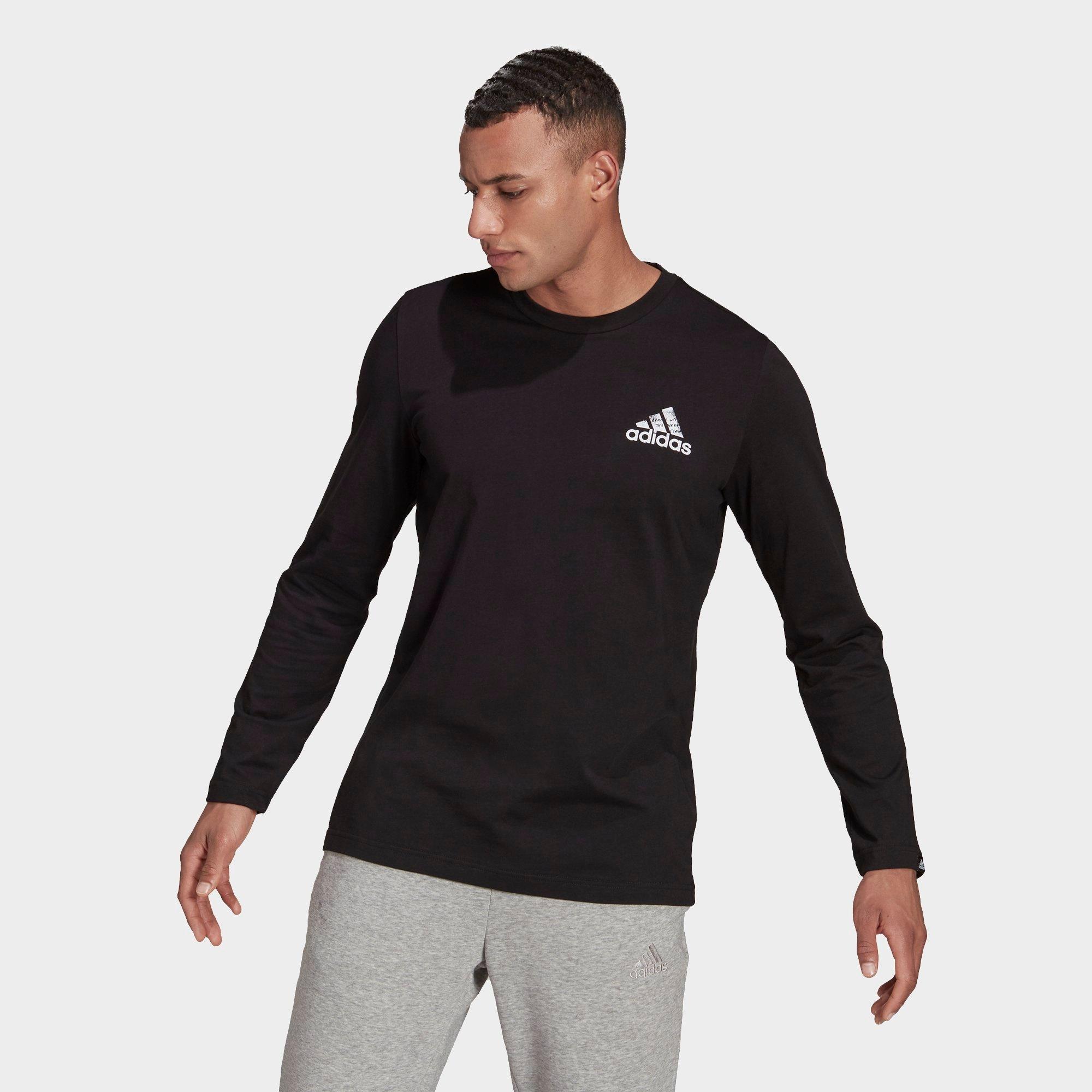Customer Favorite Adidas Men's Spray Graphic Long-Sleeve T-Shirt ...