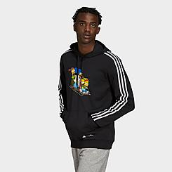 Men's adidas x The Simpsons Family Graphic Hoodie