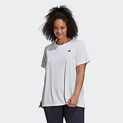 Women's adidas AEROREADY Designed 2 Move Training T-Shirt (Plus Size)