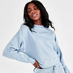Women's Reebok Piping Crewneck Sweatshirt