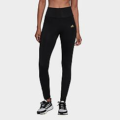 Women's adidas FeelBrilliant Designed To Move Twinkle Cropped Training Tights