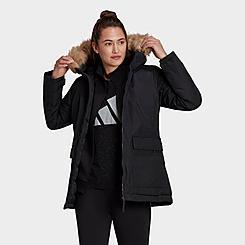 Women's adidas Utilitas Hooded Parka Jacket