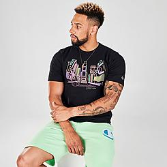 Men's Champion Neon Times Square T-Shirt