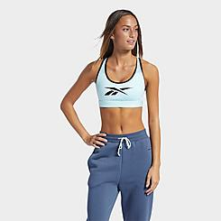 Women's Reebok Lux Racer Medium-Support Sports Bra