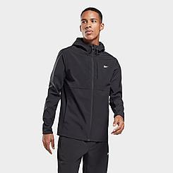 Men's Reebok Thermowarm+Graphene Cotton Full-Zip Hoodie