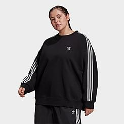 Women's adidas Originals Oversized Tunic Sweatshirt (Plus Size)
