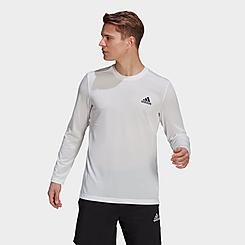 Men's adidas AEROREADY Designed 2 Move Feelready Sport Long-Sleeve T-Shirt