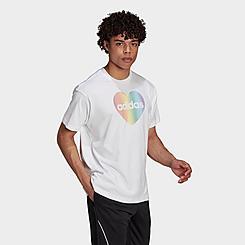 adidas Pride Heart Graphic T-Shirt