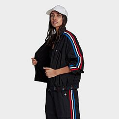 Women's adidas Originals Adicolor Tricolor Japona Track Top