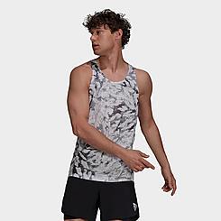Men's adidas Fast Graphic Primeblue Training Tank