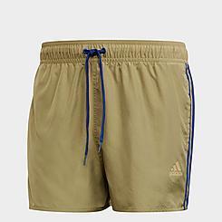 Men's adidas Classic 3-Stripes Swim Shorts