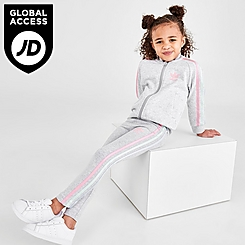 Girls' Toddler and Little Kids' adidas Originals 3-Stripes Track Suit