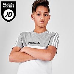 Kids' adidas Originals Sliced Trefoil T-Shirt