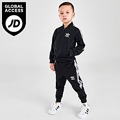 Kids' Toddler and Little Kids' adidas Originals Linear Tape Superstar Track Suit