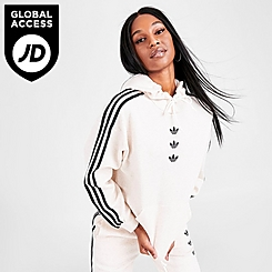 Women's adidas Originals Repeat Trefoil Hoodie