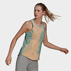 Women's adidas Essentials Tie-Dyed Effect Tank