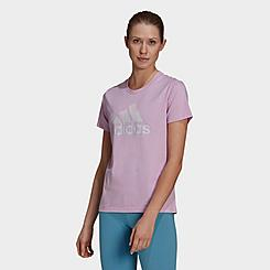 Women's adidas Essentials Tie-Dyed Effect T-Shirt