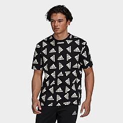 Men's adidas Essentials Loose Giant Logo T-Shirt