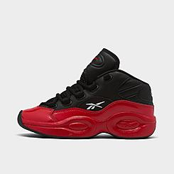 "Boys' Little Kids' Reebok Question Mid ""Street Sleigh"" Basketball Shoes"