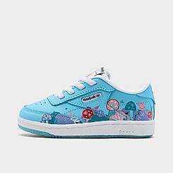 Girls' Toddler Reebok Peppa Pig Club C Casual Shoes