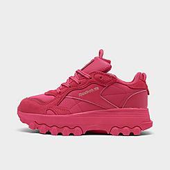 Girls' Little Kids' Reebok Cardi B Classic Leather Casual Shoes