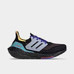 Boys' Big Kids' adidas UltraBOOST 21 Primeblue Running Shoes