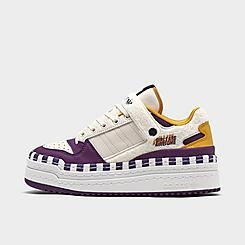Women's adidas Originals x Girls Are Awesome Forum '84 Triple Platform Casual Shoes