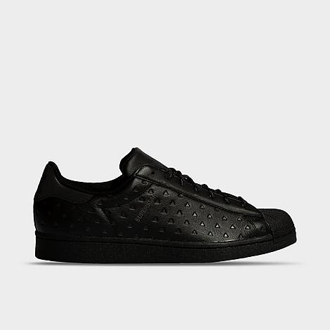 Adidas Originals ADIDAS ORIGINALS X PHARRELL WILLIAMS BLACK AMBITION SUPERSTAR CASUAL SHOES SIZE 12.0 LEATHER