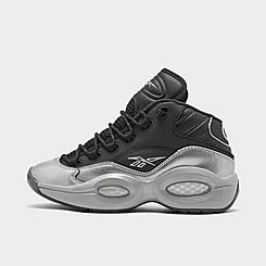 Boys' Big Kids' Reebok Question Mid I3 Motorsports Basketball Shoes