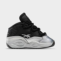 Boys' Toddler Reebok Question Mid I3 Motorsports Basketball Shoes