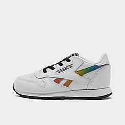 Kids' Toddler Reebok Classic Leather Pride Casual Shoes
