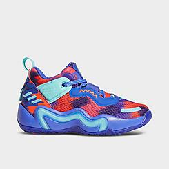 Little Kids' adidas D.O.N. Issue #3 Basketball Shoes